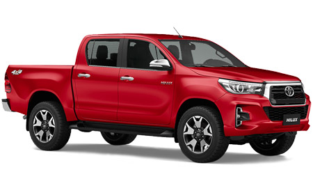 Hilux Doble Cabina 4x4 Plan 100%